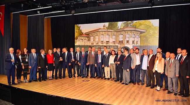 Ödemiş Belediyesi'ne TKB'den ödül  Katırcı Hanı Restorasyon Projesi ödüle layık görüldü