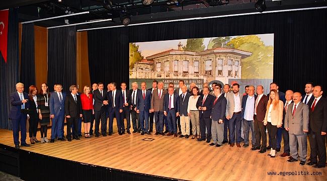 Tarihi Kentler Birliği'nden Urla'ya Ödül