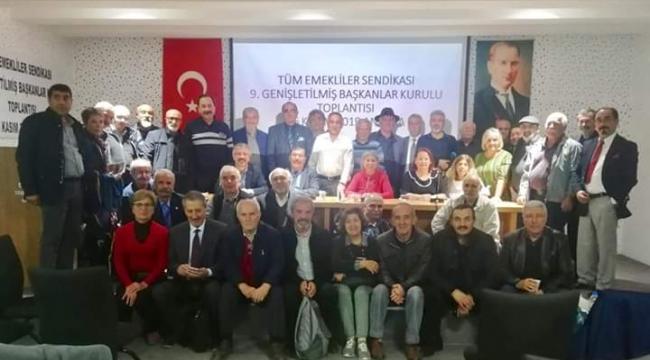 TÜM EMEKLİLER SENDİKASI BAŞKANLARI ANKARA'DAYDI