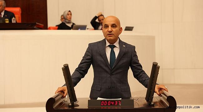 CHP'li Polat tarım ve mera alanlarını Meclise taşıdı: İzmir Modeli incelenmeli!