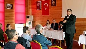 """CHP'li Sındır, """"Kooperatif varsa kalkınma vardır, gelir adaleti vardır"""""""