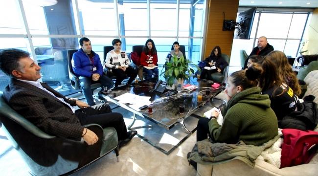 Bayraklı'da Ortaokul öğrencilerinden çevreci proje