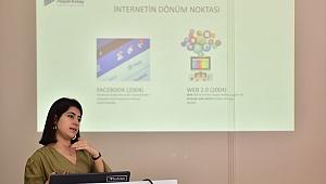 Bornova'nın üretici kadınları   dijtal pazarlama tekniklerini öğrendi