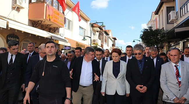 Çeşme Yerel Tohum Takas Şenliği Meral Akşener'in katılımıyla gerçekleştirildi