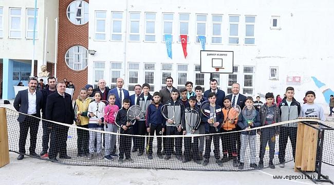 Cevizli Köyü'nün tenis hikayesi