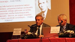 Köy Enstitülerinin kurucusu Hasan Âli Yücel Gaziemir'de anıldı