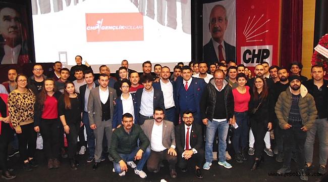 MARMARİS'TE GENÇLER YARIŞTI CHP KAZANDI