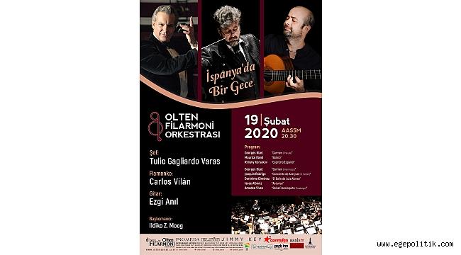 Olten Filarmoni Orkestrası ile ''İspanya'da Bir Gece''