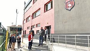 Başkan Gümrükçü, Spor Tesisinin Misafirhanesini Sağlık Emekçilerine Açtı