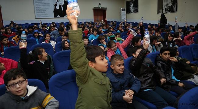 Gaziemir Geri dönüşüm eğitiminde 3 bin öğrenciye ulaşıldı