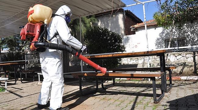 Menderes Belediyesi'nden Koronavirüs Önlemi