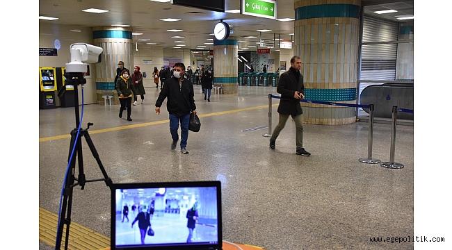 İstanbul'da metrolara termal kamera