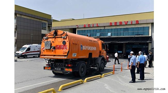 Ankara Büyükşehir Belediyesi koronavirüs mücadelesinden taviz vermiyor