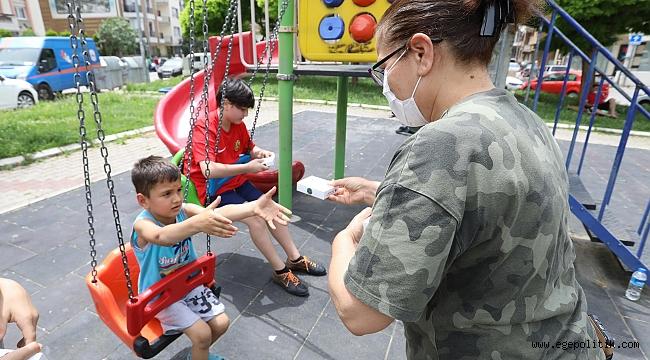 Bucalı çocuklara evde oyun sürprizi