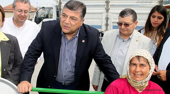 """CHP'li Sındır, """"Çiftçi perişan, hayatta kalabilmesi için sözün bittiği yerdeyiz!"""""""