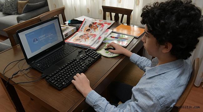 ÇİBEM'de uzaktan eğitim devam ediyor