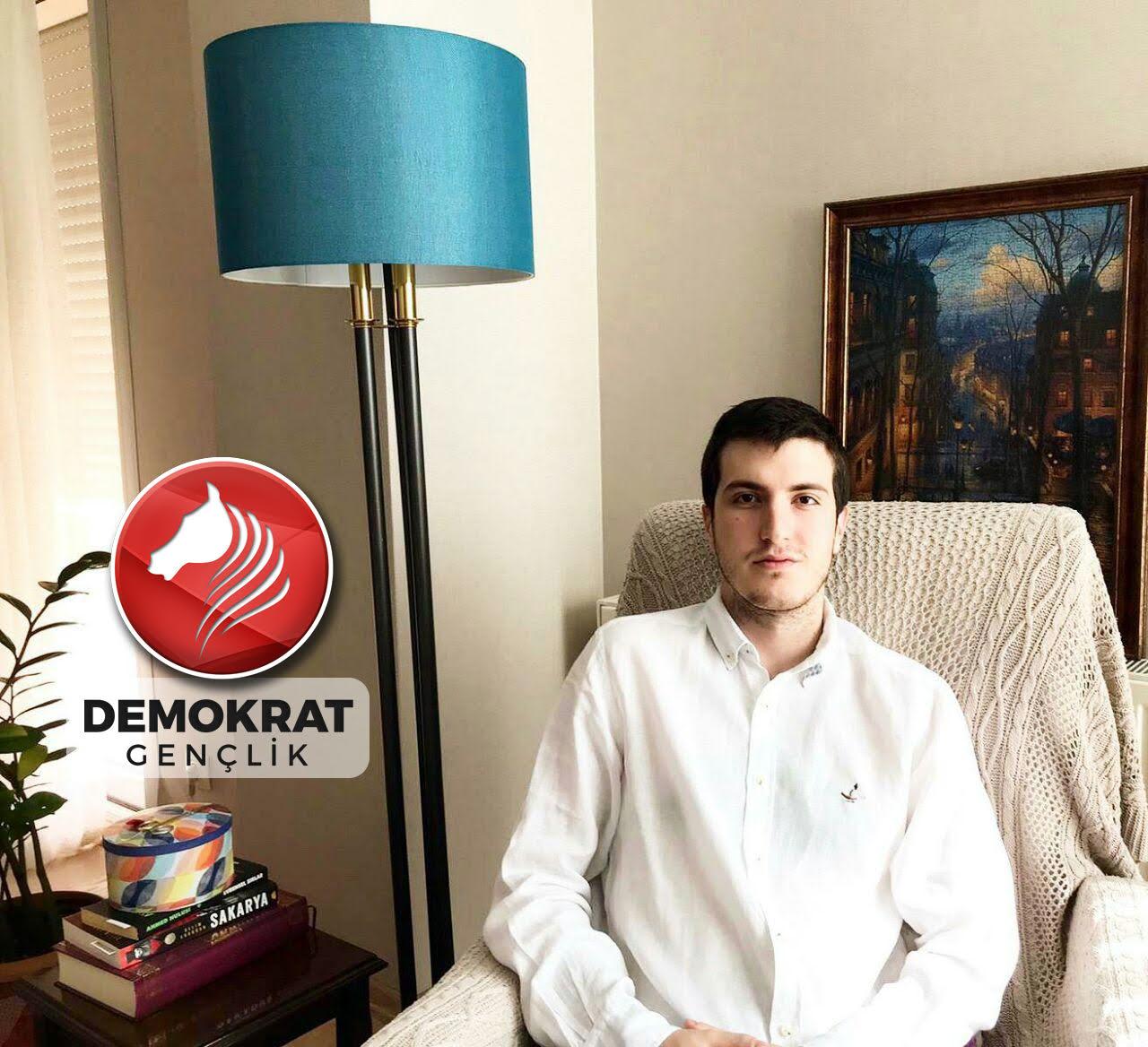 Demokrat Parti'de İzmir İl Gençlik Kolları Başkanlığı'na yeni isim…
