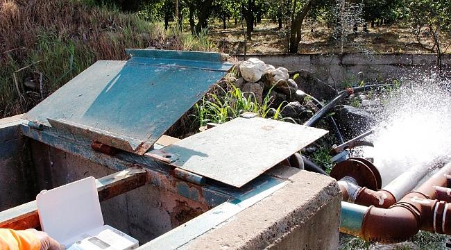 Korona günlerinde üreticiye sulamada destek