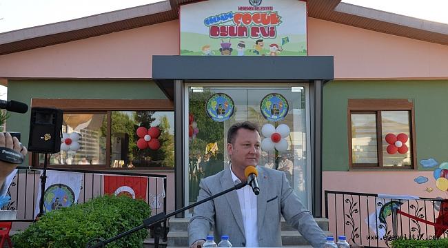 Gölpark Çocuk Oyun Evi açıldı
