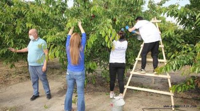 """İzmir Büyükşehir Belediyesi'nden """"Biz Varız"""" gönüllülerine teşekkür buluşması"""