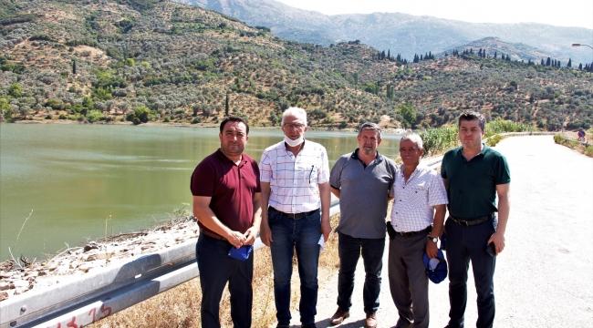 Bademli Barajı'nda tasarruflu sulama sürüyor