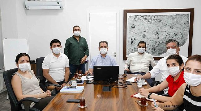 Buca Belediyesi kurum içi eğitimde Ozan Bingöl'ü konuk etti.
