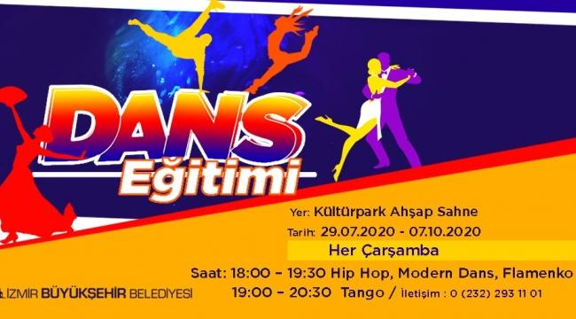 Büyükşehir Belediyesi'nin dans eğitimleri başlıyor