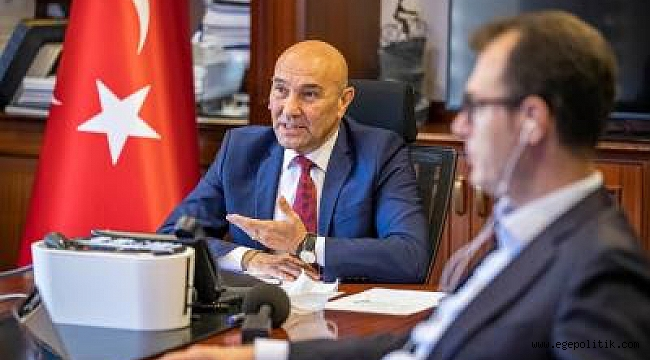 Dünyadan katılan tek belediye başkanı Tunç Soyer oldu