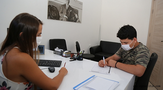 Gaziemirli öğrencilere tercih desteği