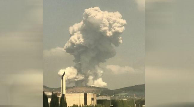 Sakarya'da havai fişek fabrikasında patlama: İçeride 150-200 çalışan var