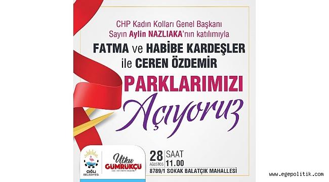 Aylin Nazlıaka Çiğli' deki açılışlara katılacak