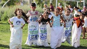 Bayraklı Belediyesinden çocuklara sürpriz etkinlik