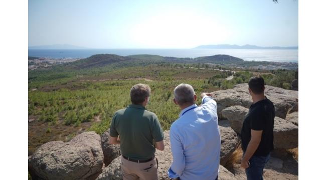 Ayvalık Belediye Başkanı Ergin' den rantçılara göz dağı