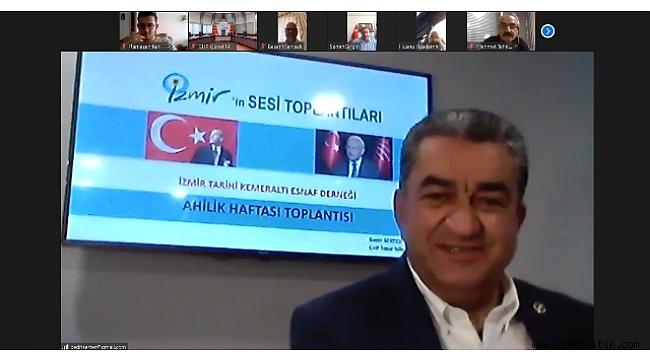 Bedri Serter, Kemeraltı esnafını Kılıçdaroğlu ile buluşturdu