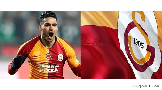 Galatasaray - Gaziantep FK maçına Falcao damgası