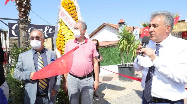 Güzelbahçe Belediyesi 'GüzBel Cafe'yi Hizmete Açtı