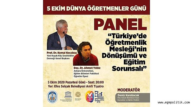 5 Ekim Dünya Öğretmenler Günü Efes Selçuk' ta unutulmadı