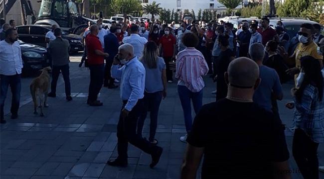 Bayraklı'da işçilerden zam önerisine tepki