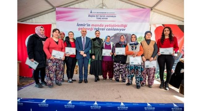Efes Selçuklu kadınların elinden ilk İzmir mozzerellası