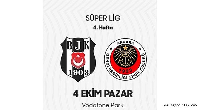 Gençlerbirliği Beşiktaş' tan 3 puanı tek golle aldı