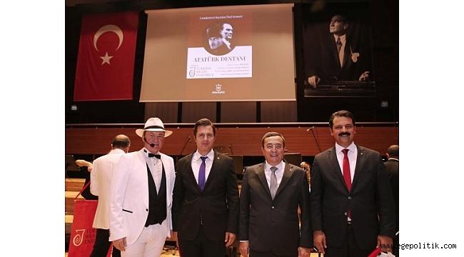 Konak Belediyesi Cumhuriyet Bayramı' nı konserle karşıladı