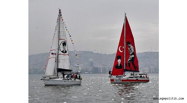 Körfez' de Cumhuriyet' e yelken açtılar
