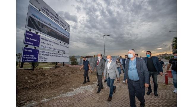 Mavişehir' de su baskınları tarih oluyor