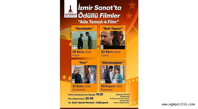 Sinemaseverler İzmir Sanat' da buluşacak