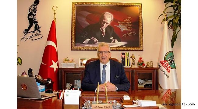 Başkan Eriş' in 24 Kasım mesajı