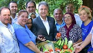 Bornova'nın Doğal Tarım Merkezi 1 yaşında