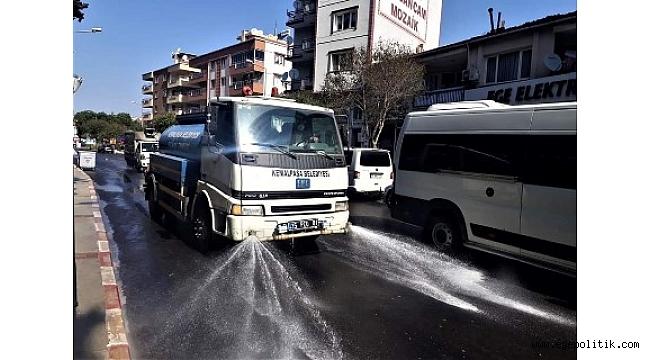 Kemalpaşa sokak sokak dezenfekte ediliyor