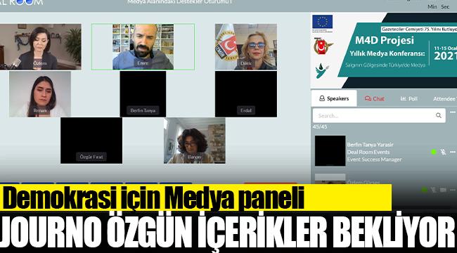 """AB destekli """"Güçlü Gazeteci, Özgür Medya Projesi"""