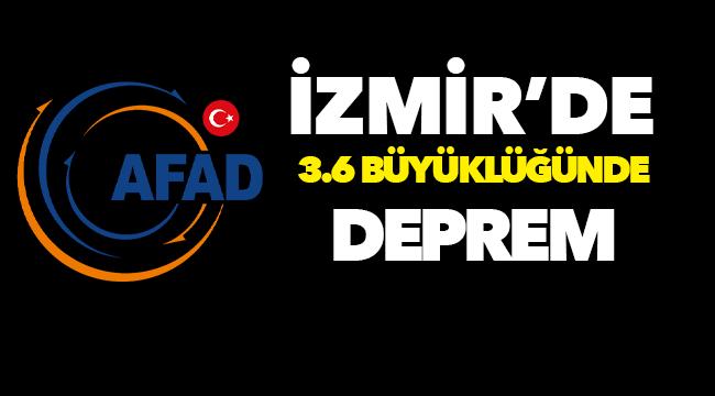 AFAD ve Kandilli duyurdu: Çanakkale ve İzmir'de deprem