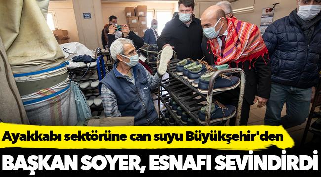 Ayakkabı sektörüne can suyu Büyükşehir'den